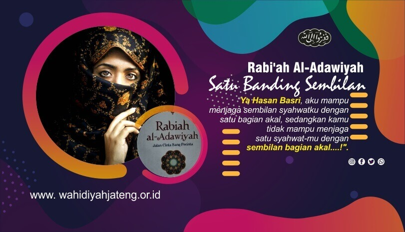 Satu Banding Sembilan - Rabi'ah Al-Adawiyah